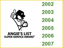 The years of Awards for Alstate Appliance Repair
